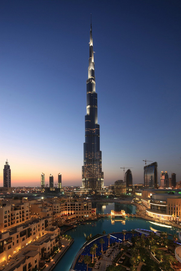 Самая высокая здание в дубае