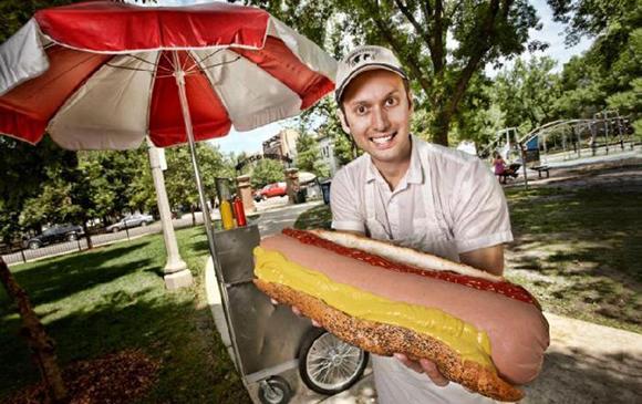 Самый дорогой хот-дог в мире фото